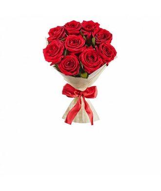 Классический букет из роз