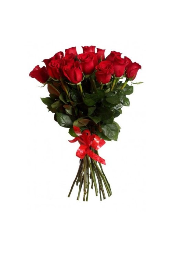 Букет 15 роз Эквадор 60 см
