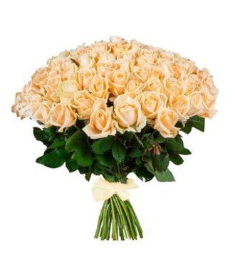 51 роза Пич Аваланж