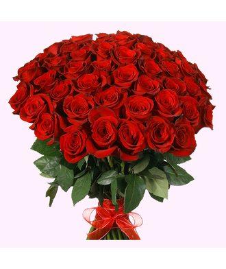 Букет из 51 розы Эквадор (60 см)